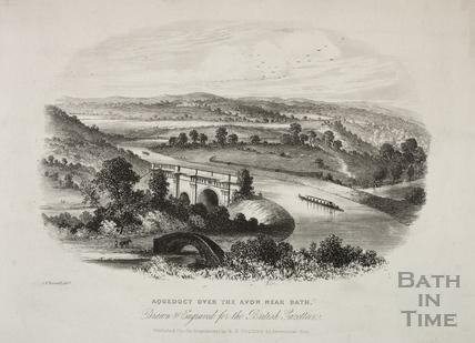 Aqueduct over the Avon near Bath c.1820