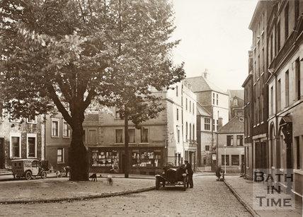 Abbey Green, Bath c.1931