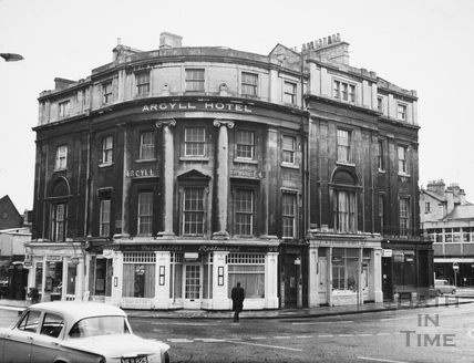 The Argyll Hotel, Dorchester Street, Bath 1967