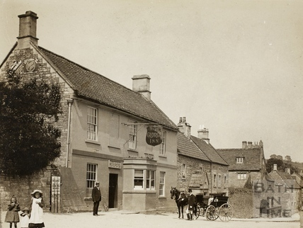 The George Inn, Wellow c.1890