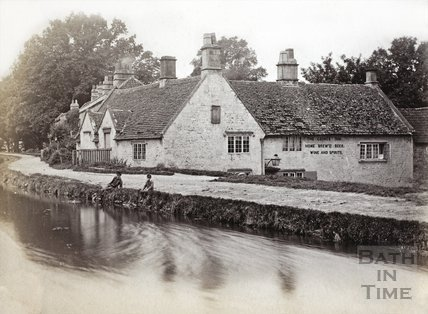 The George Inn, Bathampton c.1890