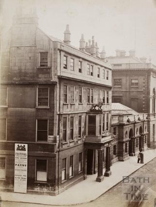 The White Lion Inn, High Street 1893