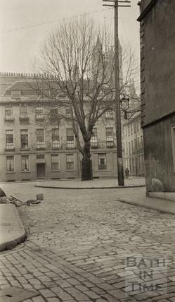 Abbey Green from Abbeygate Street, Bath c.1930