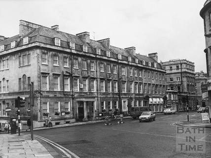 The Royal York Hotel, York Buildings, Bath 1987