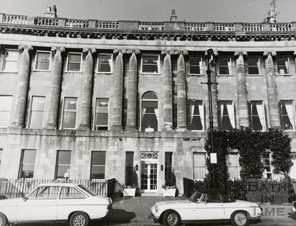 The Royal Crescent Hotel, Bath 1981