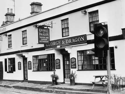 The George & Dragon, Batheaston 1991