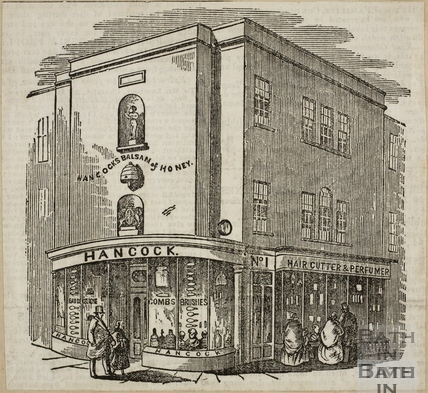 George Hancock, 1, Old Bond Street, Bath 1855