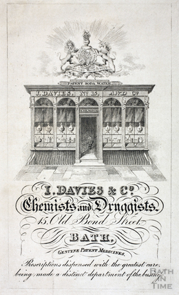J. Davies & Co., 15, Old Bond Street, Bath 1832