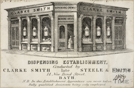 G. Clarke Smith, 14, New Bond Street, Bath c.1859