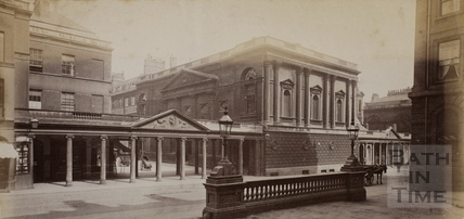 Grand Pump Room, Bath c.1865