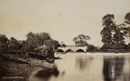 Bathampton Weir 1876