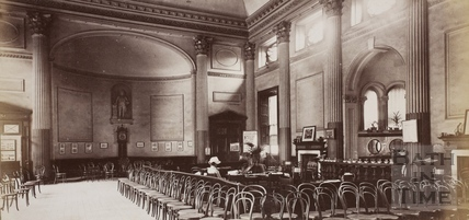 Interior, Grand Pump Room, Bath c.1870
