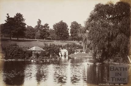 In Victoria Park, Bath c.1880