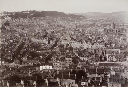 View from Beechen Cliff, Bath c.1870-1890