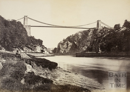 Brunel's Clifton Suspension Bridge, Bristol c.1870-1890
