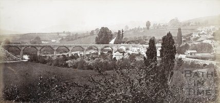 The Viaduct, Midford c.1870