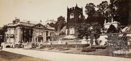 Old Church and Manor, Widcombe, Bath c.1870