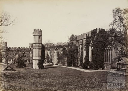Ruins of the Old Palace, Wells c.1870-1890