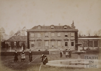The Manor House, Monkton Farleigh c.1870-1890