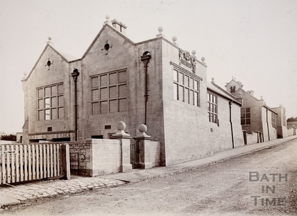 West Twerton Council Schools, The Hollow, Twerton, Bath c.1910