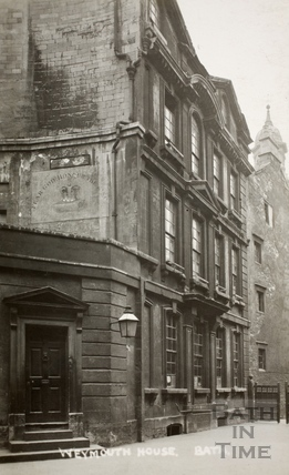 Weymouth House School, St. James's Street (South), Bath c.1912