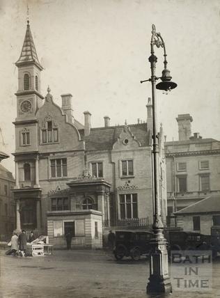 Old Blue Coat School, Sawclose, Bath c.1935