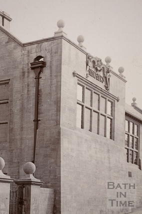 West Twerton Council Schools, The Hollow, Twerton, Bath c.1910 - detail