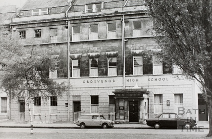 Grosvenor High School, 3 to 5, Grosvenor Place, Bath c.1970