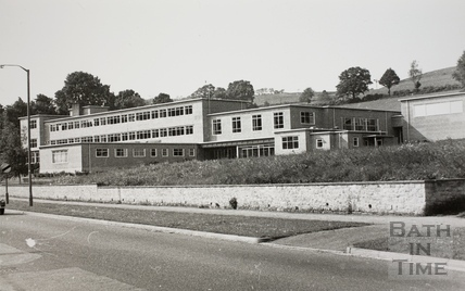 Oldfield Girls School, Kelston Road, Bath c.1970