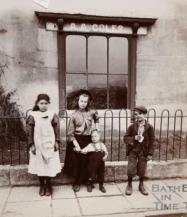 A.A. Coles, 1, Rosebery Road, West Twerton, Bath? c.1900