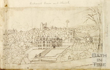 Widcombe Manor House and St. Thomas à Becket Church, Bath c.1740-1770