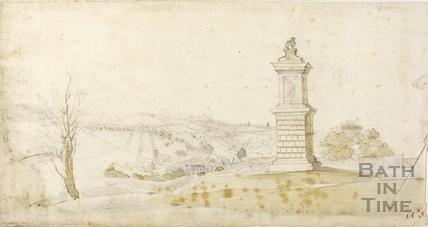 Lansdown Monument, Lansdown, Bath c.1740-1770