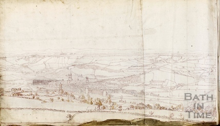 Panorama of Bath from near Sion Hill c.1756-8