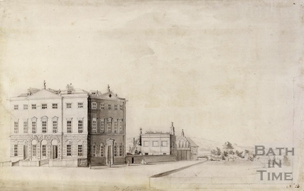 Dr. Oliver's House, Queen Square, Bath c.1740-1770