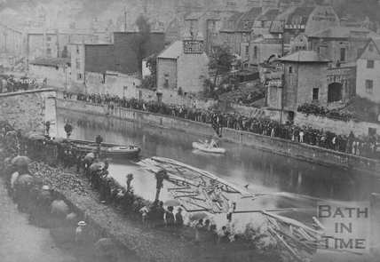 Widcombe Bridge disaster, Bath 1877