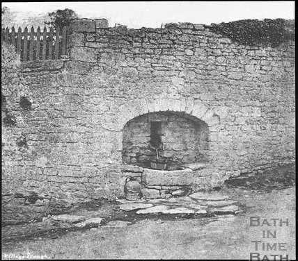 Swainswick village trough 1854
