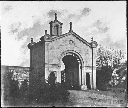 Lansdown Cemetery gatehouse, Lansdown, Bath 1853