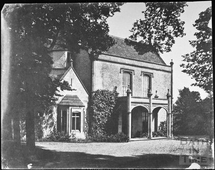 Kington Manor, Kington St. Michael 1858