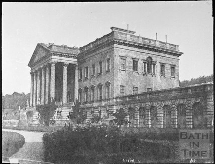 Prior Park mansion, Bath 1856