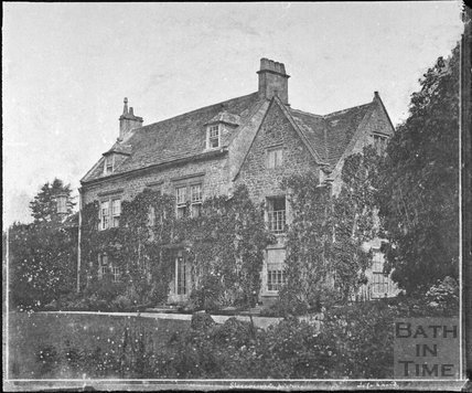 Mr. Whittington's House, Swainswick 1853/57