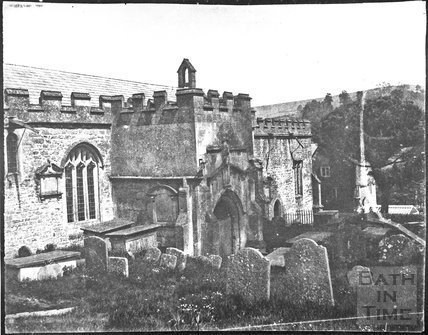 St. John the Baptist's Church, Batheaston c.1854