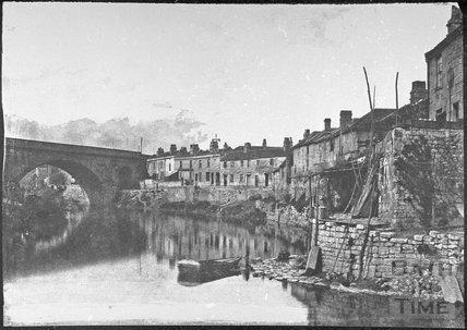 Bridge Place, Avon Cottages and St. James's Bridge, Dolemeads, Bath 1853/57