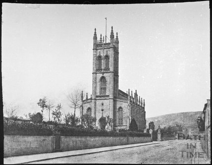 St. Saviour's Church, Larkhall, Bath 1859