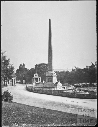 Obelisk, Royal Victoria Park, Bath 1857