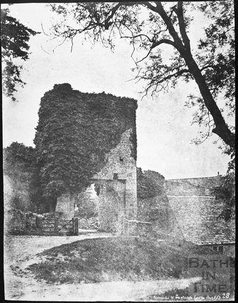 The Gatehouse, Farleigh Castle 1853
