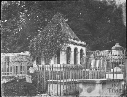 Ralph Allen's mausoleum, Claverton 1861