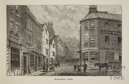 Holloway, Bath c.1880