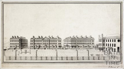 North Parade, Bath c.1750