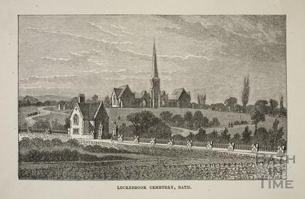 Locksbrook Cemetery, Lower Weston, Bath c.1880