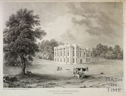 Claverton Manor c.1833
